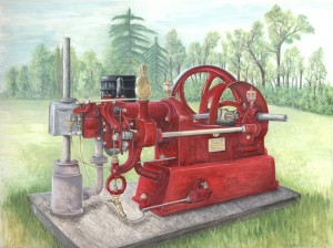 0906 COMMISSION. Mr Young's Stationary Engine