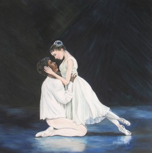 1019 Pour l'Amour du ballet - du debut ('For the love of ballet - the beginning'.)