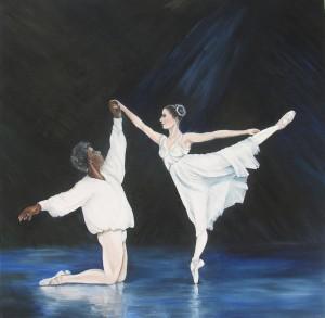 1020 Pour l'Amour du ballet - la fin ('For the love of ballet - the end'.)