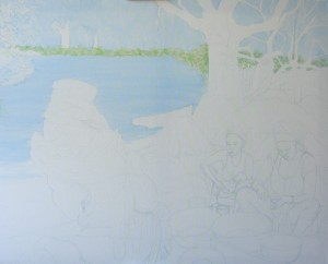 1510: Guardians of the Mangrove Oyster. Progress 3