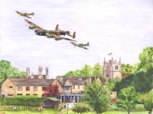 1511 Battle of Britain Flypast, Ramsey COMMISSION