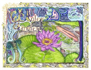 1519 Illuminated Water Garden